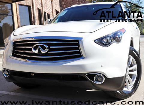 2015 Infiniti QX70 for sale in Norcross, GA