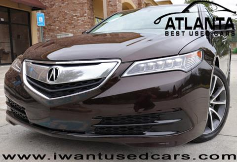 2015 Acura TLX for sale in Norcross, GA