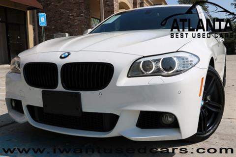 2012 BMW 5 Series for sale in Norcross, GA