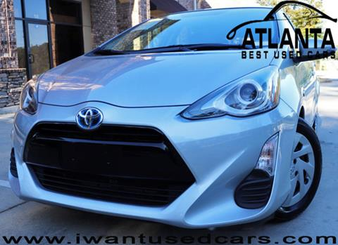 2016 Toyota Prius c for sale in Norcross, GA