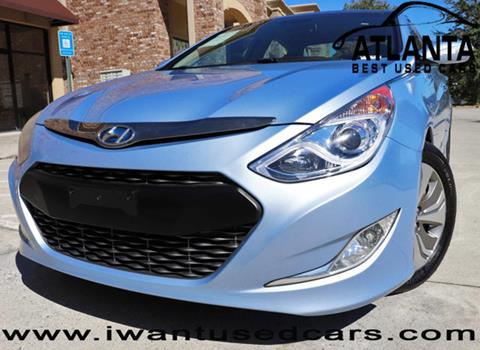 2014 Hyundai Sonata Hybrid for sale in Norcross, GA