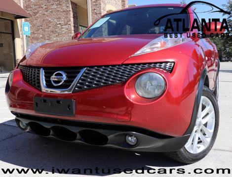 2012 Nissan JUKE for sale in Norcross, GA