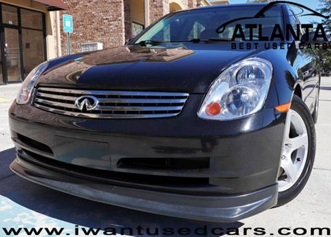 2004 Infiniti G35 for sale in Norcross, GA