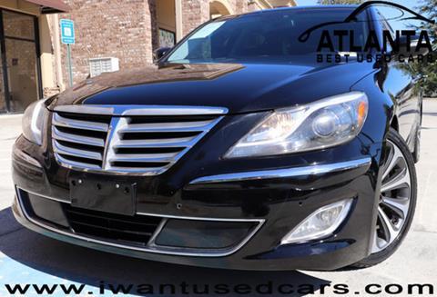 2012 Hyundai Genesis for sale in Norcross, GA