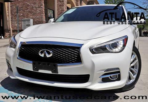 2015 Infiniti Q50 for sale in Norcross, GA