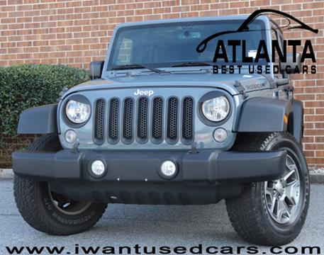 2014 Jeep Wrangler Unlimited for sale in Norcross, GA