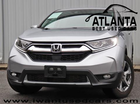 2017 Honda CR-V for sale in Norcross, GA