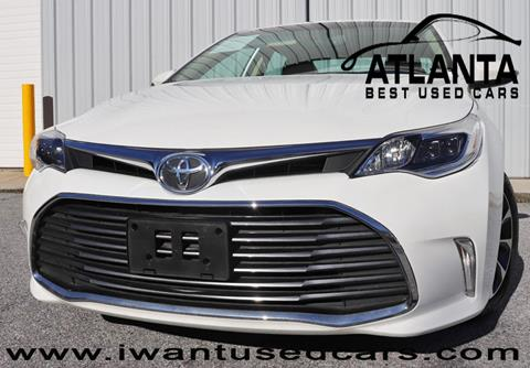 2016 Toyota Avalon for sale in Norcross, GA