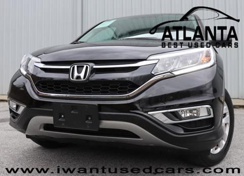 2015 Honda CR-V for sale in Norcross, GA