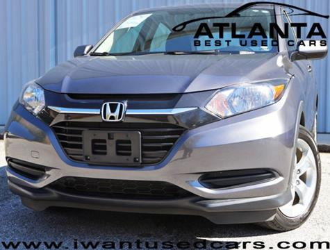 2016 Honda HR-V for sale in Norcross, GA