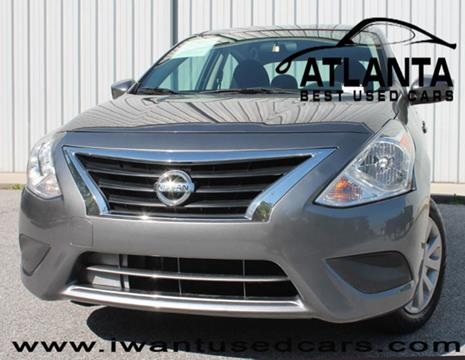 2016 Nissan Versa for sale in Norcross, GA