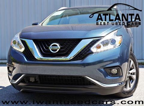 2017 Nissan Murano for sale in Norcross, GA