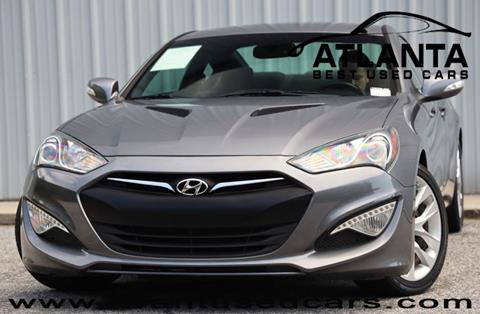 Used Cars For Sale In Georgia >> 2016 Hyundai Genesis Coupe For Sale In Norcross Ga