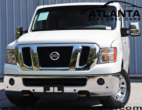 2015 Nissan NV Passenger for sale in Norcross, GA