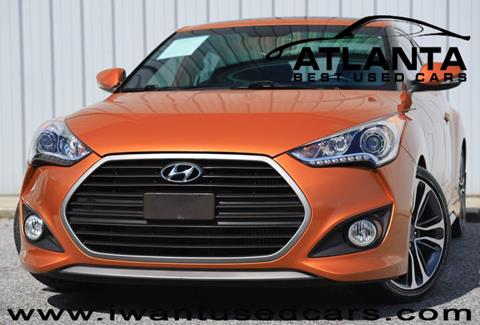 Used Cars For Sale In Georgia >> 2016 Hyundai Veloster Turbo For Sale In Norcross Ga