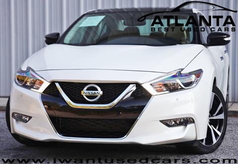 2018 Nissan Maxima for sale in Norcross, GA