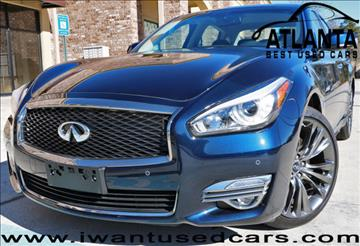 2016 Infiniti Q70 for sale in Norcross, GA