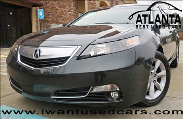 2013 Acura TL for sale in Norcross, GA
