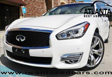 2015 Infiniti Q70L for sale in Norcross, GA