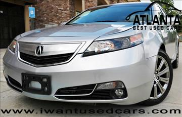 2013 Acura TL for sale in Norcross, GA