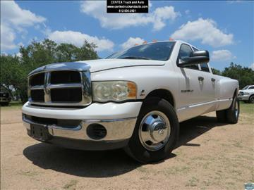 2003 Dodge Ram Pickup 3500 for sale at Centex Truck and Auto in Dripping Springs TX