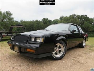 1985 Buick Regal for sale at Centex Truck and Auto in Dripping Springs TX