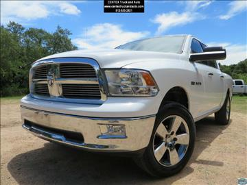 2010 Dodge Ram Pickup 1500 for sale at Centex Truck and Auto in Dripping Springs TX