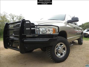 2005 Dodge Ram Pickup 2500 for sale at Centex Truck and Auto in Dripping Springs TX