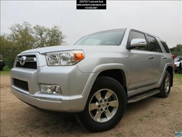 2012 Toyota 4Runner for sale at Centex Truck and Auto in Dripping Springs TX