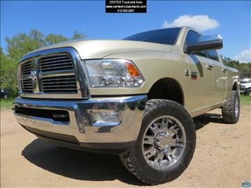2011 RAM Ram Pickup 2500 for sale at Centex Truck and Auto in Dripping Springs TX