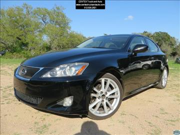2007 Lexus IS 250 for sale at Centex Truck and Auto in Dripping Springs TX