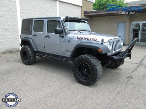 2015 Jeep Wrangler Unlimited for sale in Cambridge, OH