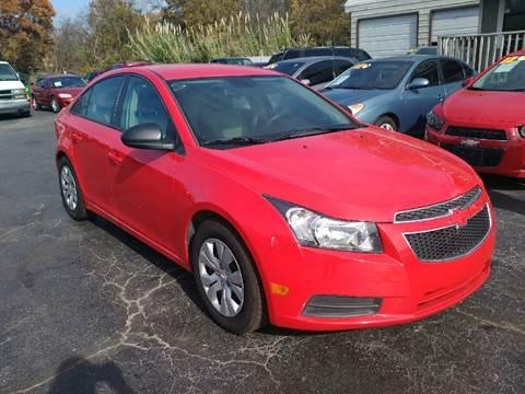 2014 Chevrolet Cruze For Sale In Oklahoma