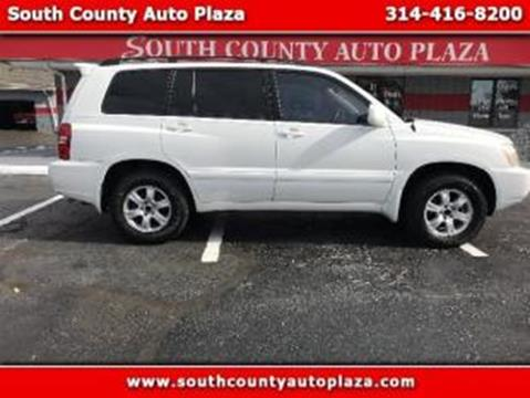 2001 Toyota Highlander for sale in Saint Louis, MO