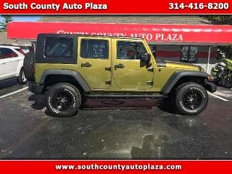 2008 Jeep Wrangler Unlimited for sale in Saint Louis MO