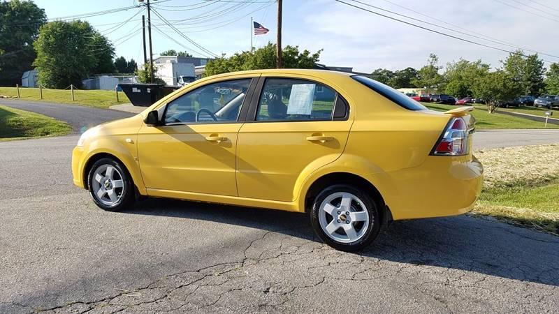 2007 Chevrolet Aveo LT 4dr Sedan - Greer SC