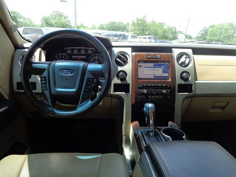 2012 Ford F-150 4x4 Lariat 4dr SuperCrew Styleside 5.5 ft. SB - Jackson GA