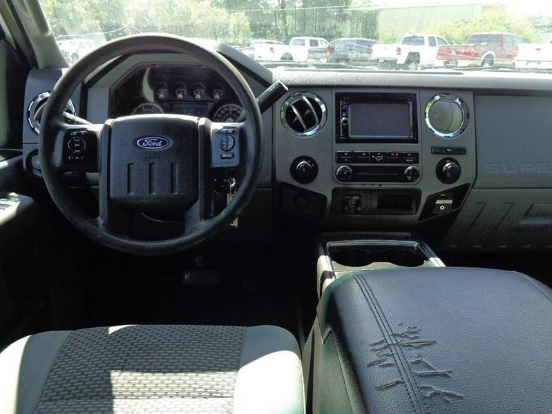 2012 Ford F-350 Super Duty 4x4 XLT 4dr Crew Cab 8 ft. LB SRW Pickup - Jackson GA