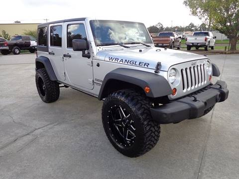 2012 Jeep Wrangler Unlimited for sale in Jackson, GA