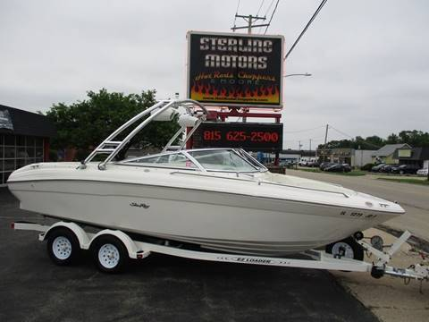 1998 Sea Ray 210 Bowrider for sale in Sterling, IL