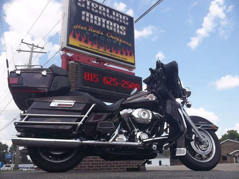 2007 Harley-Davidson Electra Glide Ultra Classic for sale at Sterling Motors INC in Sterling IL