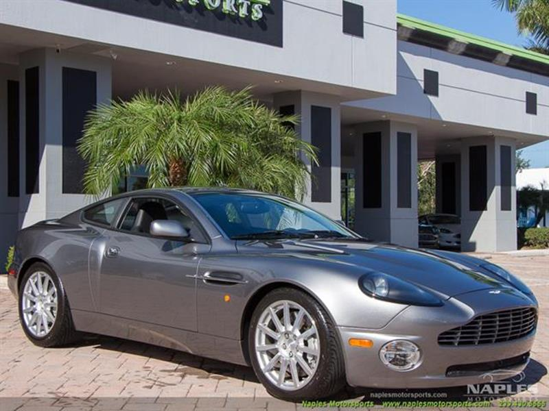 Aston Martin V Vanquish S Dr Coupe In Naples FL Naples - Aston martin naples