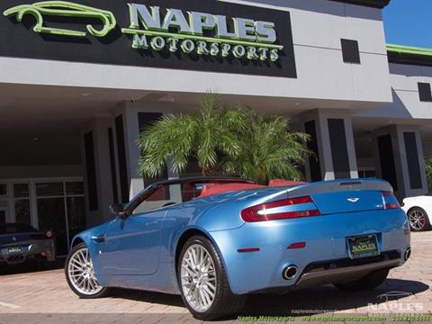 Aston Martin V Vantage Roadster Dr Convertible In Naples FL - Aston martin dealership florida