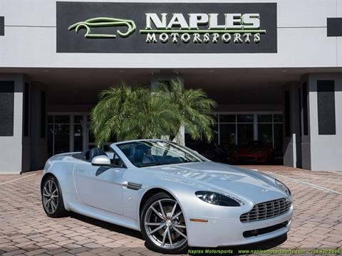Aston Martin V Vantage For Sale In Florida Carsforsalecom - Aston martin v8 for sale