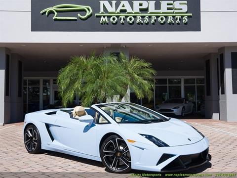 2014 Lamborghini Gallardo For Sale Carsforsale Com