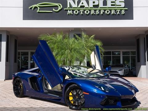 2013 Lamborghini Aventador for sale in Naples, FL