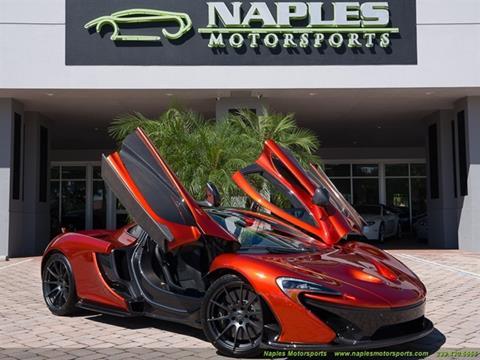 2015 McLaren P1 for sale in Naples, FL