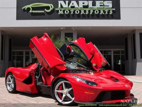 Ferrari Laferrari For Sale >> 2015 Ferrari Laferrari For Sale In Naples Fl