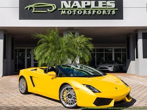 2011 Lamborghini Gallardo For Sale In Naples, FL