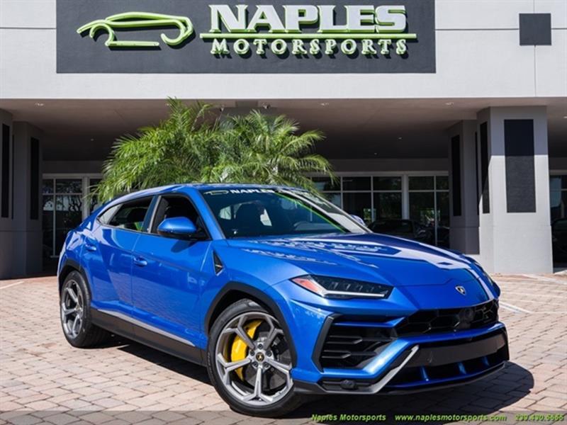 2019 Lamborghini Urus Awd 4dr Suv In Naples Fl Naples Motorsports